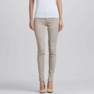 Neutral J Brand Maria High Rise Skinny Jean 31